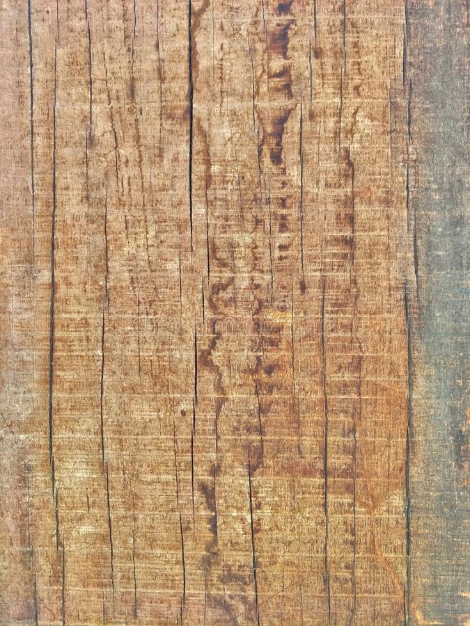 Cracked pattern of hard wood surface texture with traces of saw blade for add text or work design for backdrop product. Close up cracked pattern royalty free stock photo