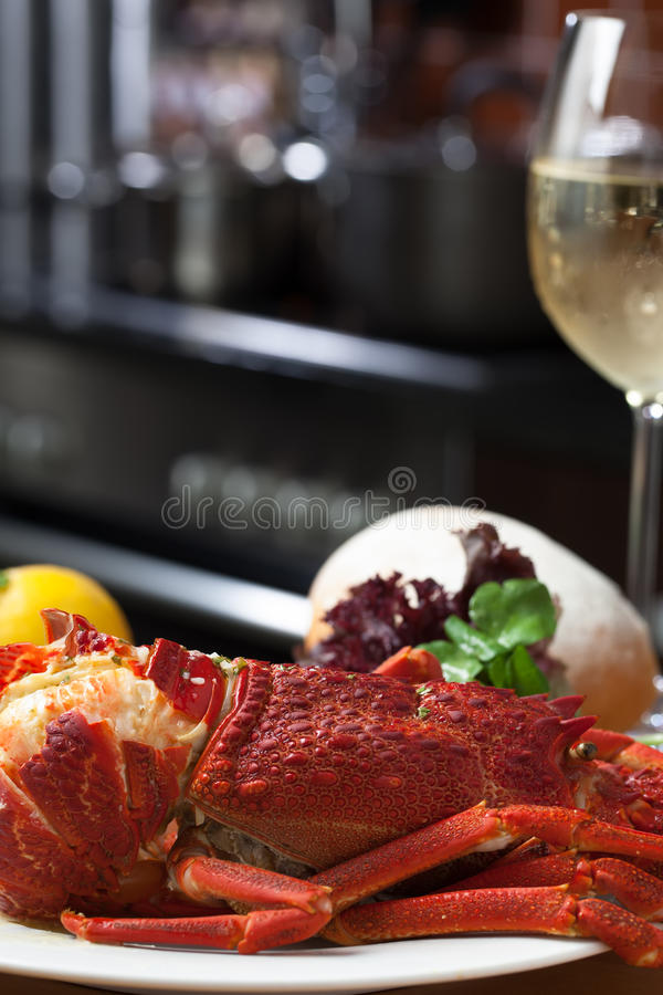Close Up Of Crayfish Royalty Free Stock Images