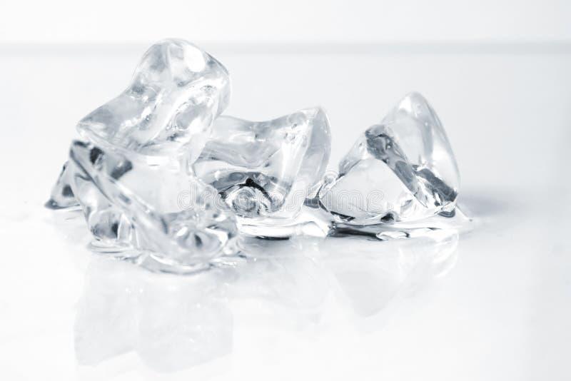 Close up of crushed ice. Crushed Ice Macro royalty free stock photography