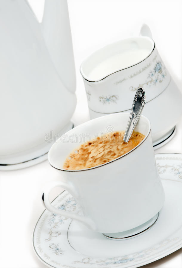 Download Close Up Of Cup Of Capuchino Royalty Free Stock Photos - Image: 24736908