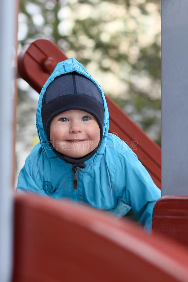 Download Close-up Of Cute Beautiful Small Boy Outside Stock Photo - Image: 20158108
