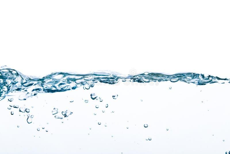 Close-up da água no movimento fotos de stock