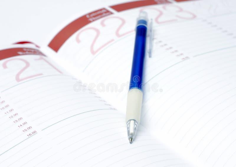 Download Close up da agenda foto de stock. Imagem de organize, nota - 102544