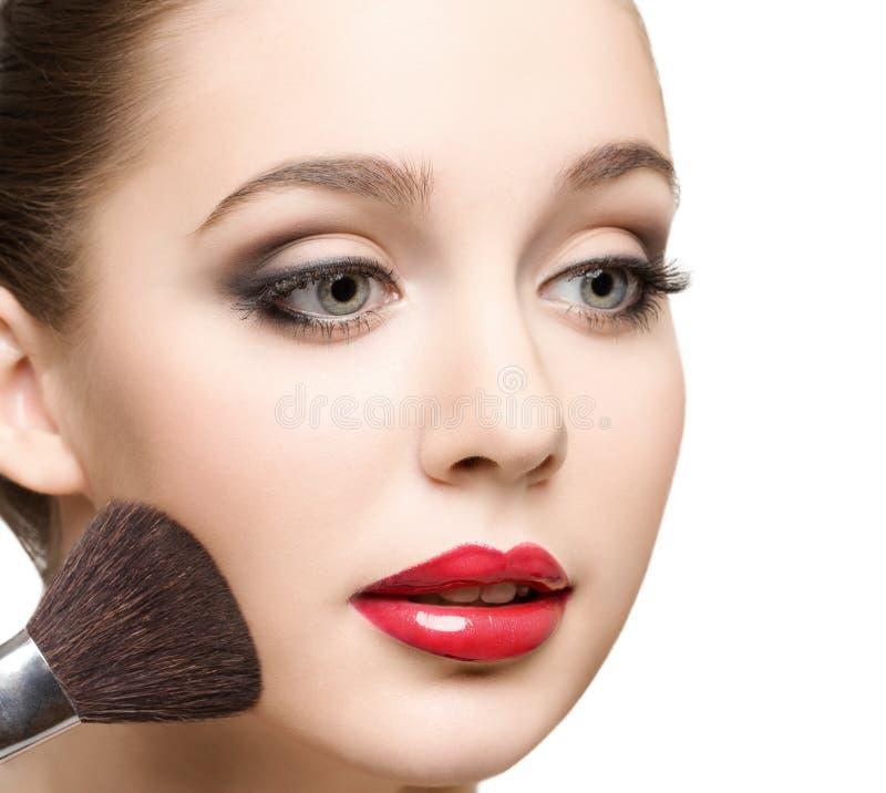 Close-up da beleza fotografia de stock