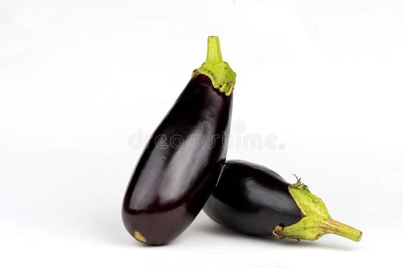 Close up da beringela Beringela bonita Vegetais saudáveis eggplant fotografia de stock royalty free