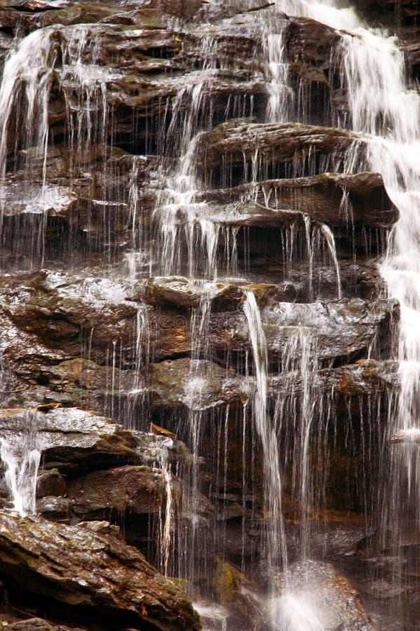 Close-up da cachoeira fotografia de stock royalty free