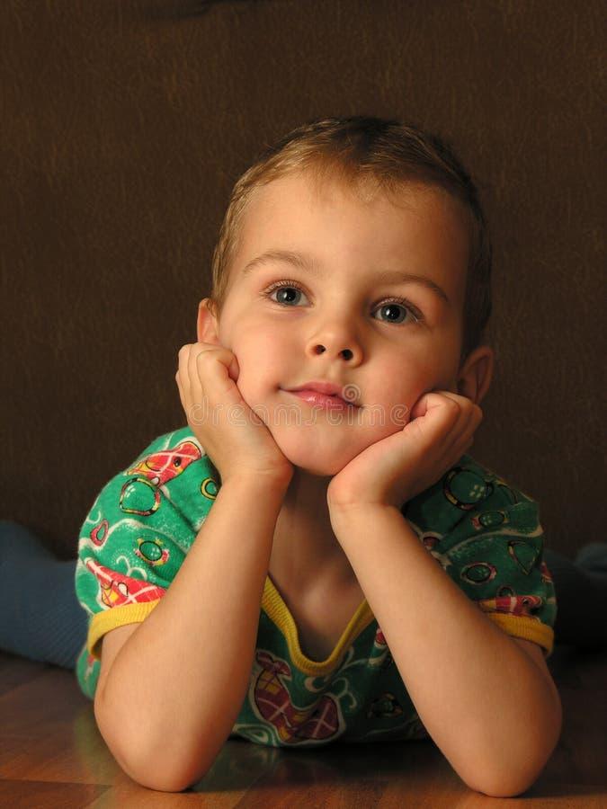 Close Up Da Criança Foto de Stock Royalty Free