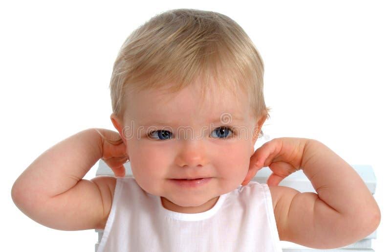 Close up da criança feliz fotos de stock