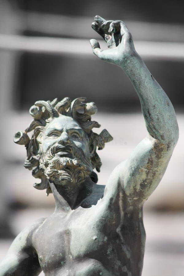 Close-up da estátua fotos de stock royalty free