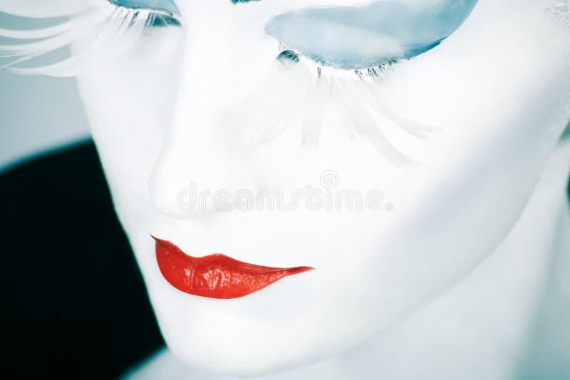 Close-up da face foto de stock