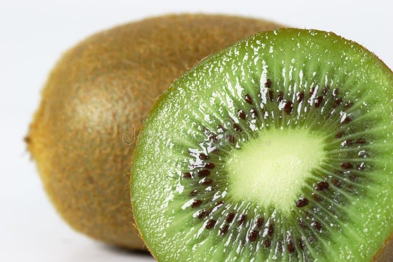 Close up da fruta de quivi foto de stock