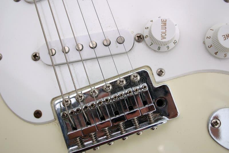 Close Up Da Guitarra Imagens de Stock