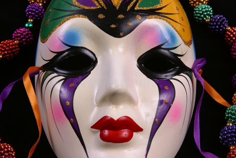Close up da máscara do carnaval imagem de stock royalty free
