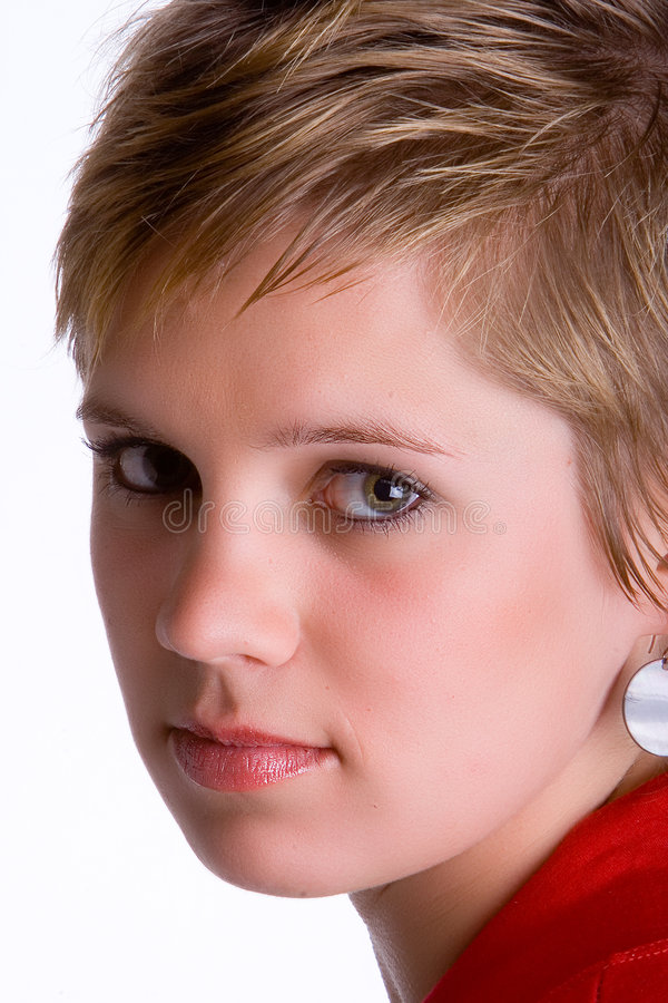 Close-up da menina fotos de stock royalty free