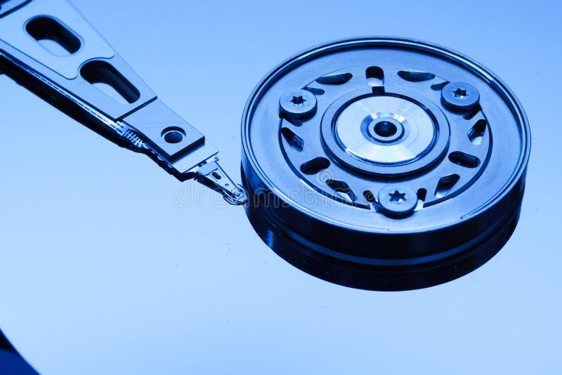 Close-up da movimentação de disco rígido fotos de stock
