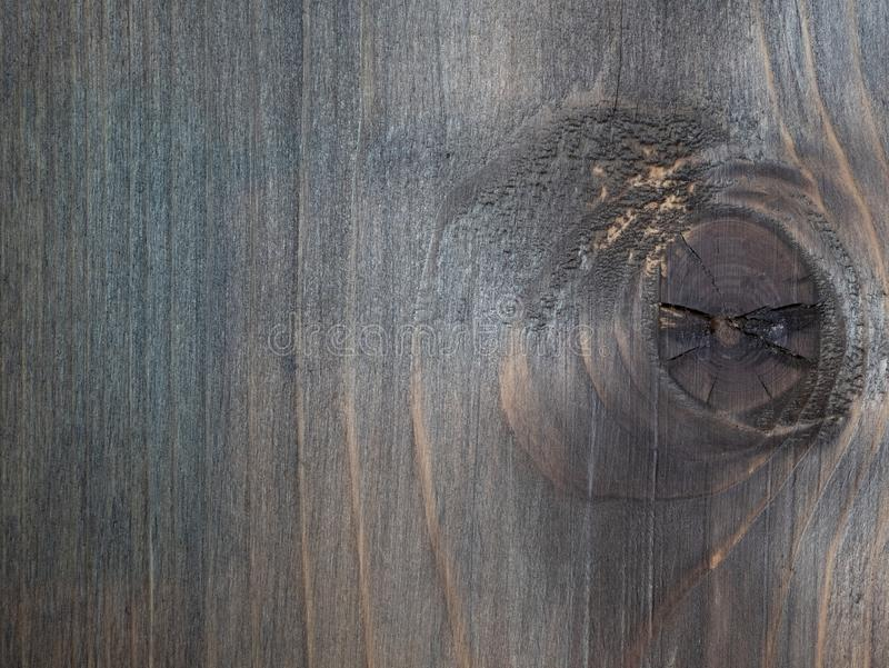 Close up da placa de madeira com pouca imperfeição foto de stock