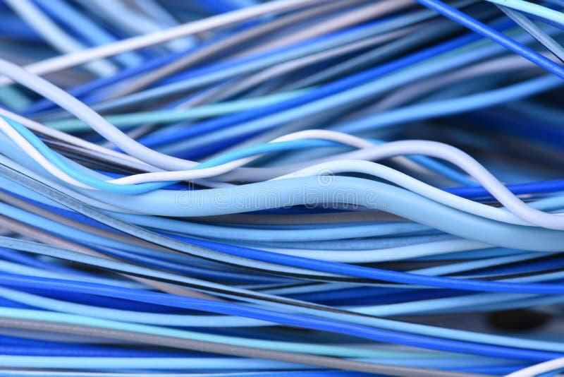 Close-up da rede de cabo bonde imagens de stock royalty free