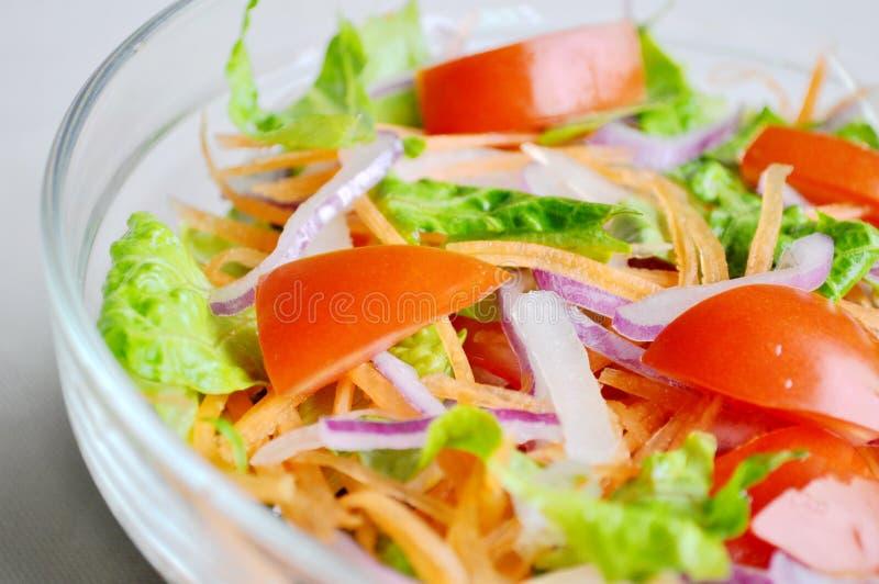 Close up da salada fotos de stock royalty free