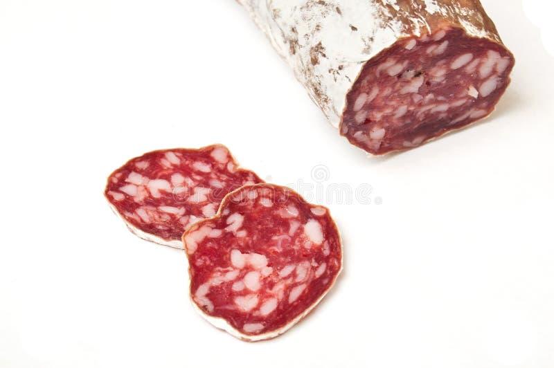 Close up da salsicha imagem de stock