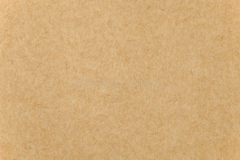 Close up da textura do cartão do papel de Brown foto de stock