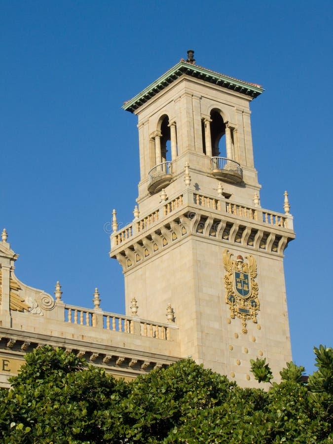 Close up da torre da estação foto de stock royalty free
