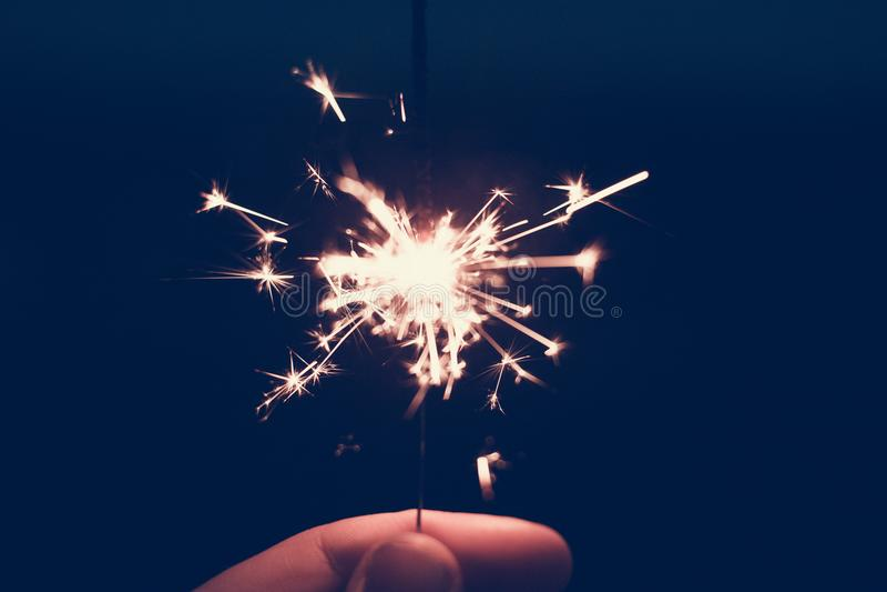 Close-up, Dark, Firework stock photo