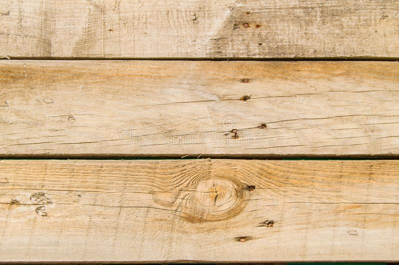 Close-up dark old grunge boards dark wood background with rusty nails wood texture, vintage tone surface royalty free stock images