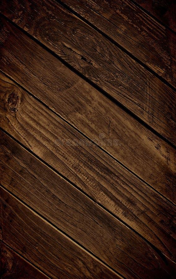 Dark Rich Wood Background