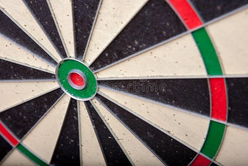 Close up of a darts board royalty free stock image