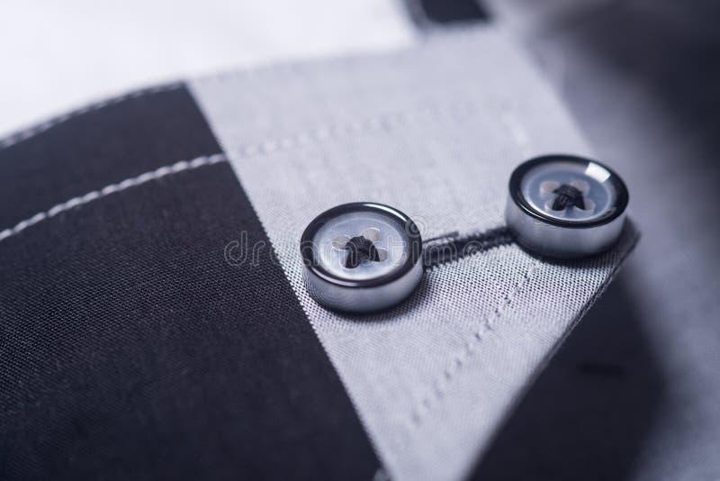 Close up das camisas close up das camisas do homem foto de stock royalty free