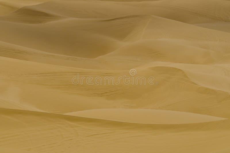 Close up das dunas de areia fotos de stock