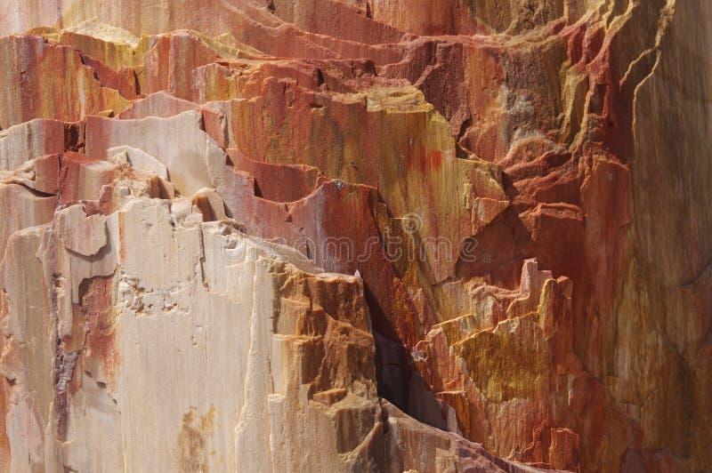 Close up de anéis rochosos fotos de stock