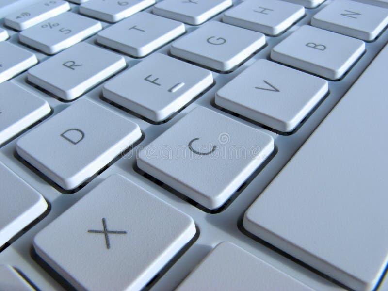 Close up de chaves do portátil imagem de stock