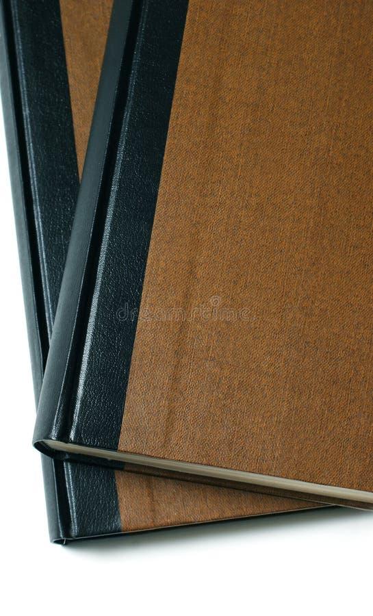 Close-up de livros belamente encadernados fotografia de stock