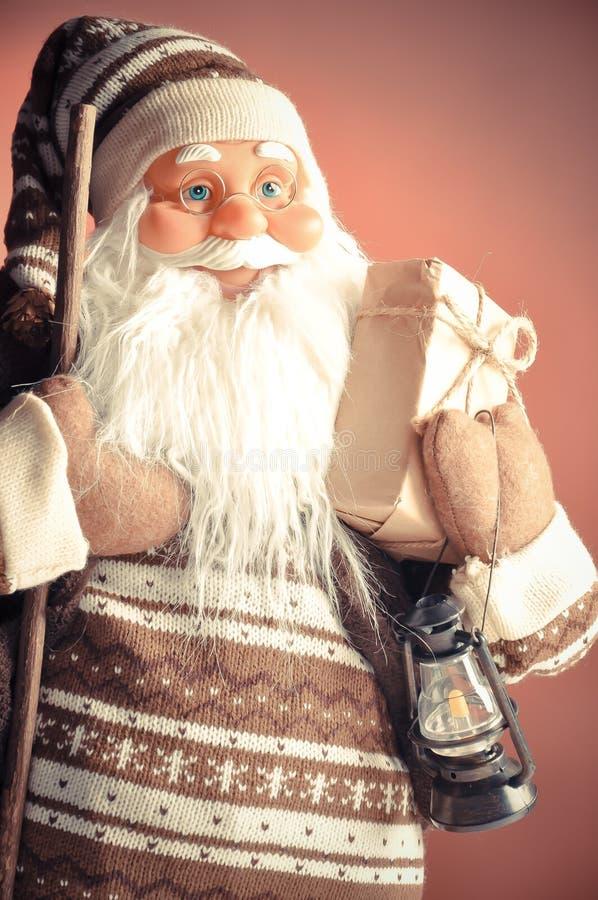 Close-up de Papai Noel fotografia de stock royalty free