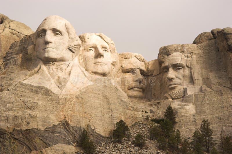 Close-up de Rushmore da montagem fotografia de stock