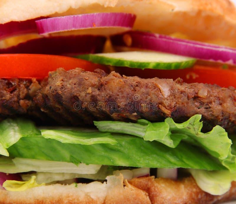 Close-up de Sandwiche imagem de stock royalty free