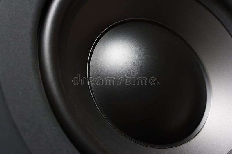 Close-up de Subwoofer imagens de stock