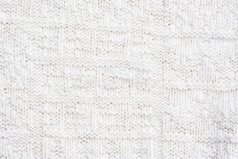 Close-up de um teste padrão de lã imagens de stock royalty free