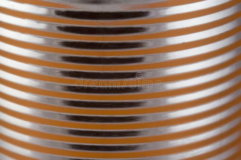 Download Close up de uma lata imagem de stock. Imagem de brilho - 538219