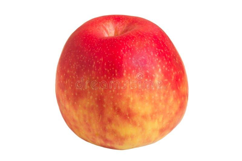 Close-up de uma maçã vermelha inteira fotos de stock