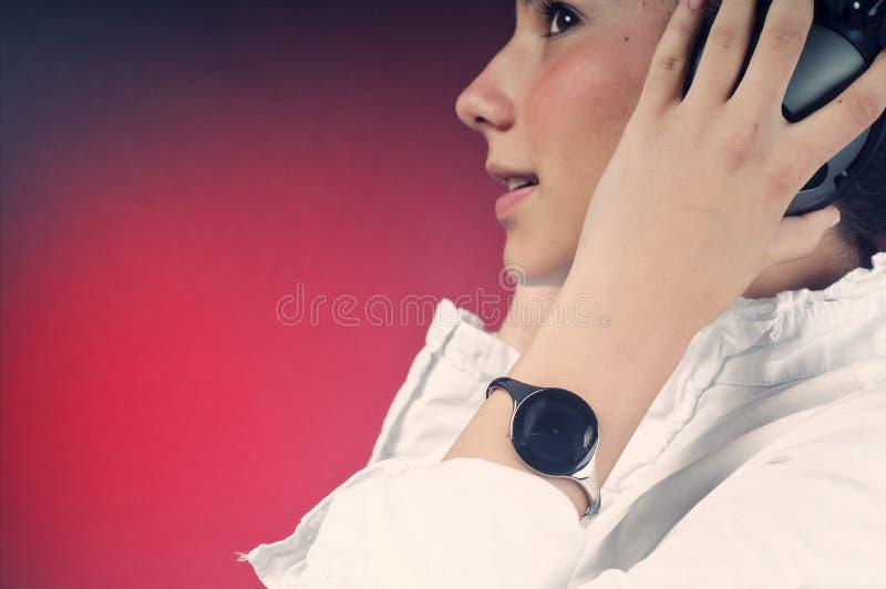 Close-up de uma rapariga fotografia de stock royalty free