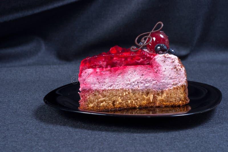Download Close Up De Uma Sobremesa Deliciosa Foto de Stock - Imagem de decorado, creme: 26513432