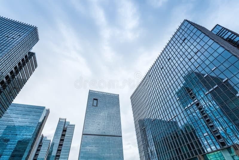 Close up de vidro moderno das construções imagem de stock royalty free