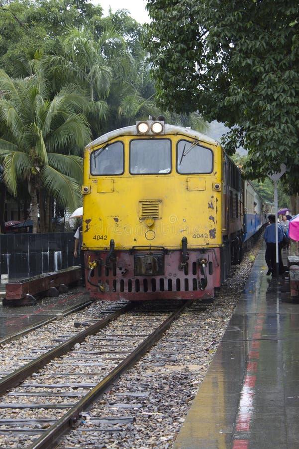 Close up of Death Bridge Train stock image