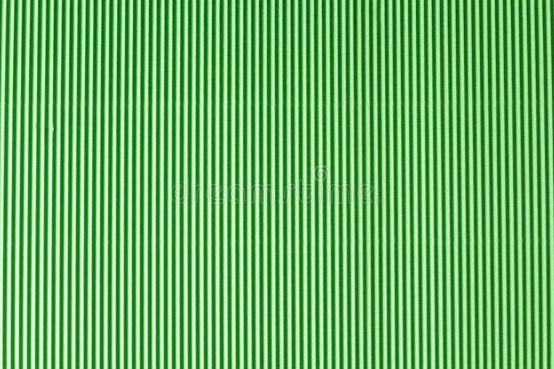 Close up decorativo verde do papel de superfície do ziguezague foto de stock royalty free