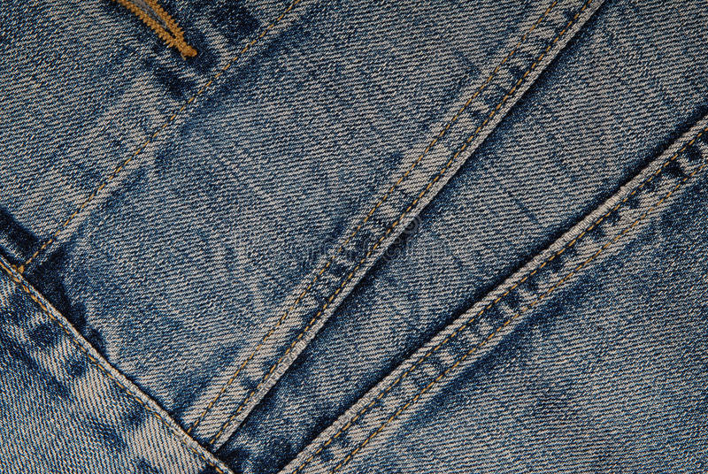 It is a close-up of denim jacket. royalty free stock photos