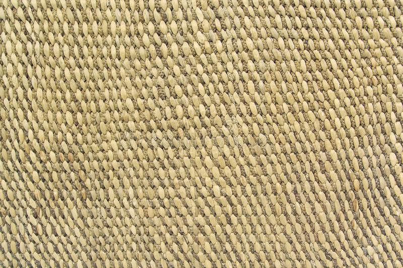 Close up detail view of a wicker basket weave royalty free stock images