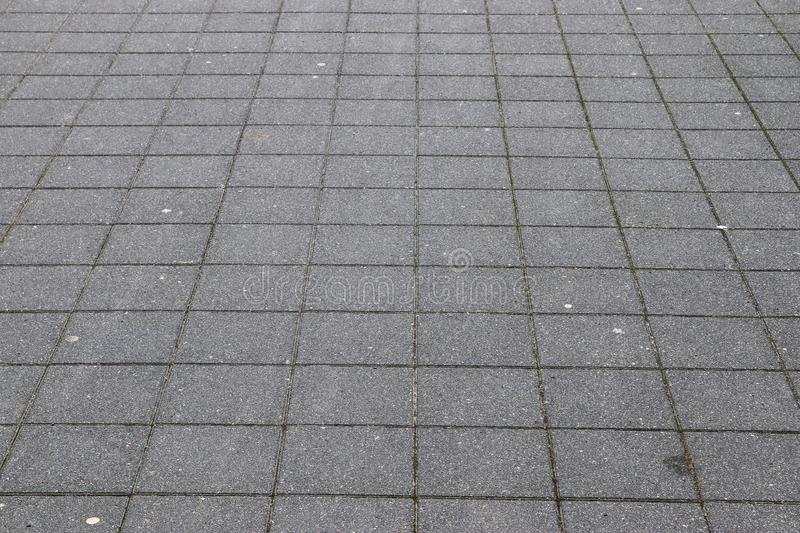 Close up detailed view on a cobblestone street pavement in high reoslution. Found in germany stock photography