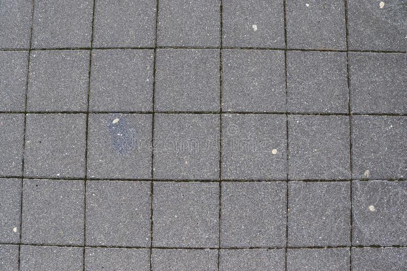 Close up detailed view on a cobblestone street pavement in high reoslution. Found in germany stock image